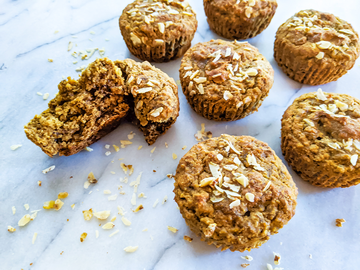 Banana Maple Tigernut Muffins (Top 8 Free & Coconut-Free)