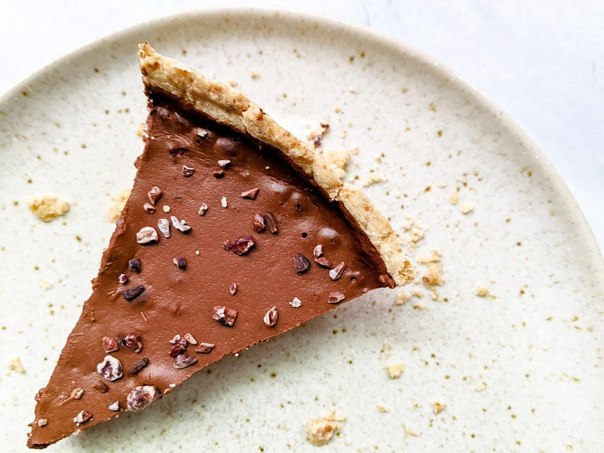 Chocolate Coconut Cream Pie (Top 8 Free)