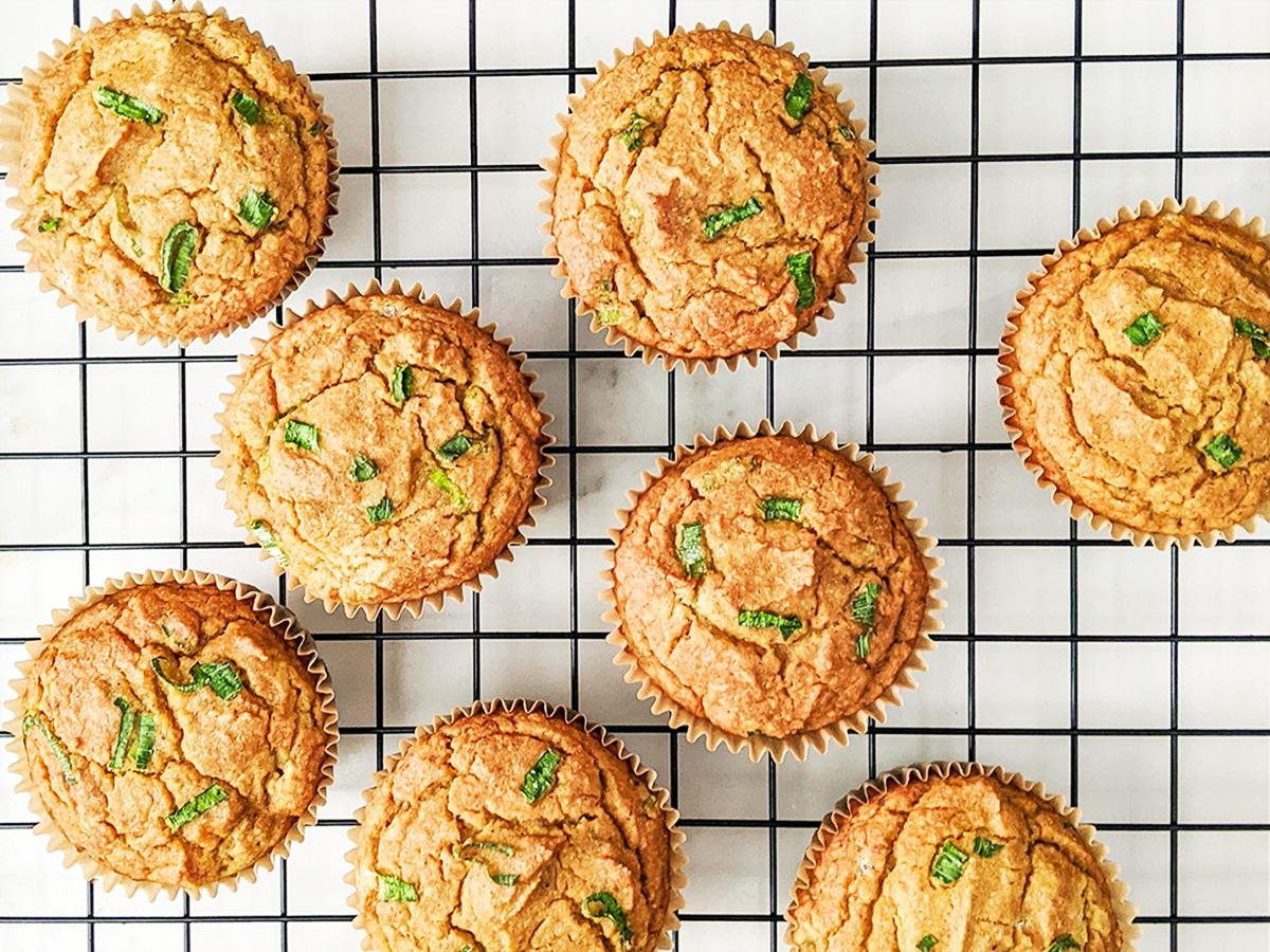 Butternut Squash Scallion Muffins (AIP/Paleo)