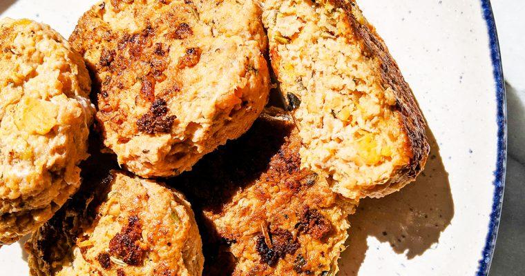 Sweet Potato Turkey Patties (AIP & Top 8 Free)