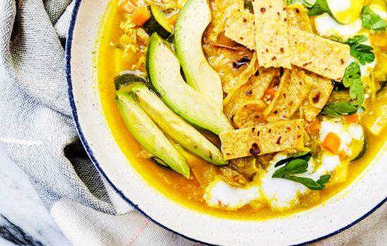 Paleo Tortilla Soup (Whole30, Top 8 Free)