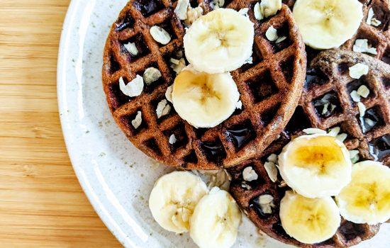 Green Banana Flour Waffles (AIP & low-FODMAP)