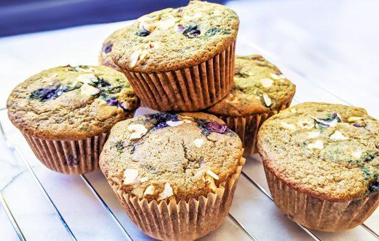 Blueberry Tigernut Muffins (AIP & low-FODMAP)