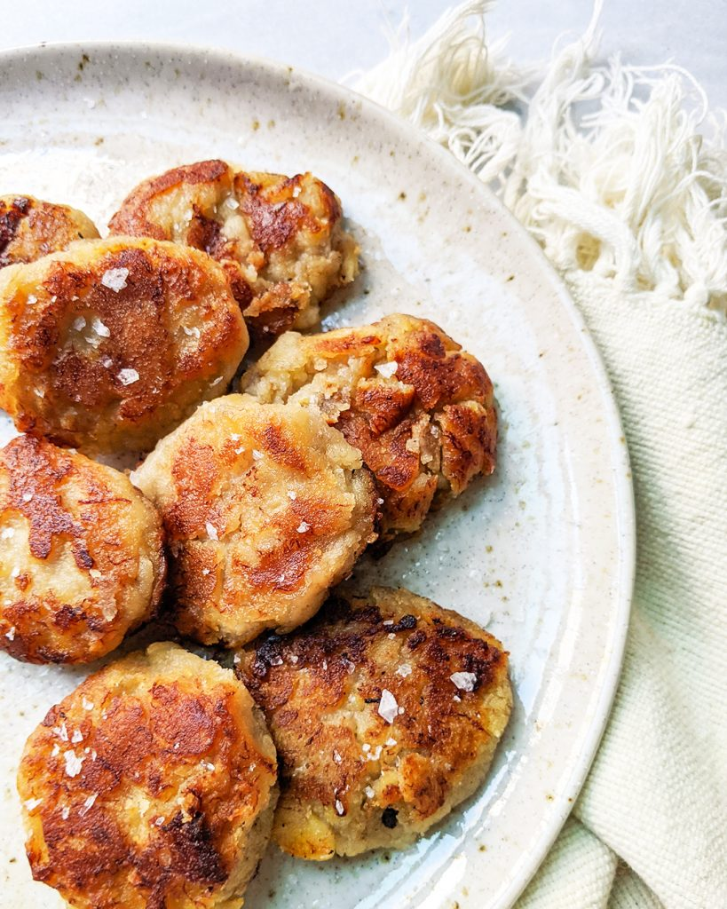 AIP Banana Coconut Fritters