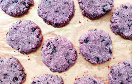 AIP Blueberry Cake Cookies (Top 8 Free)