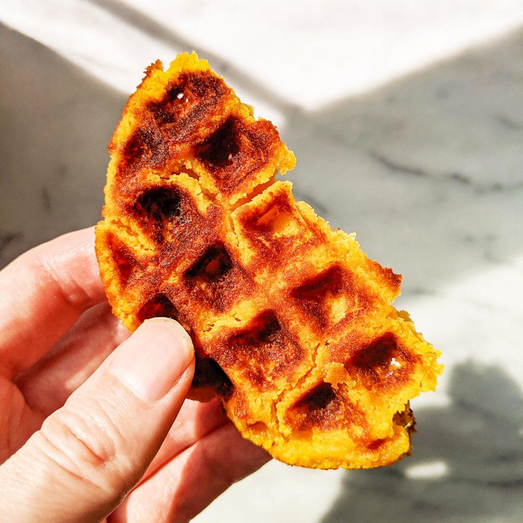 Pumpkin Tigernut Waffles (AIP, Top 8 Free)